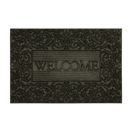 Mohawk Home Filagree Border Rectangular Outdoor Doormat