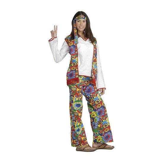 Buyseasons Hippie Dippie Woman Adult Costume