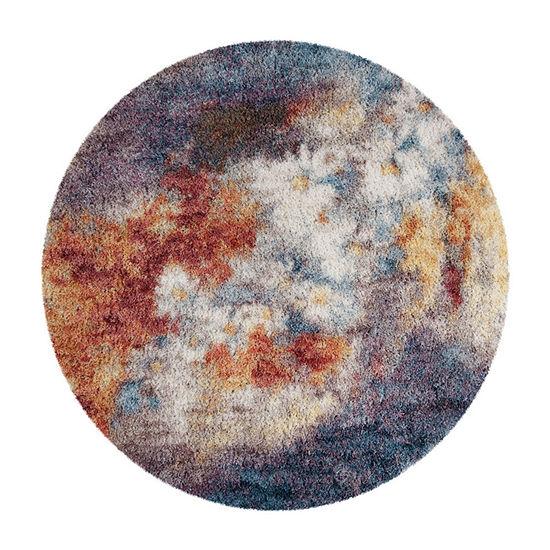 Safavieh Gypsy Collection Corina Abstract Round Area Rug