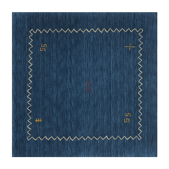 Safavieh Himalaya Collection Leo Solid Square Area Rug