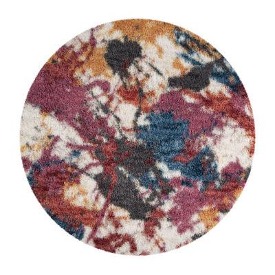 Safavieh Gypsy Collection Vaska Abstract Round Area Rug
