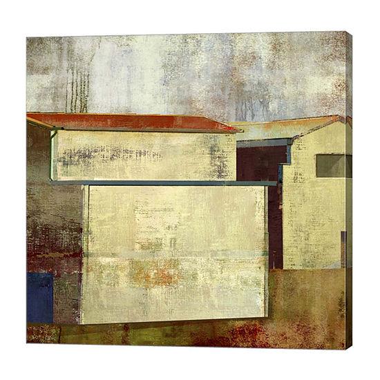 Metaverse Art Abstract Construction I Canvas Art