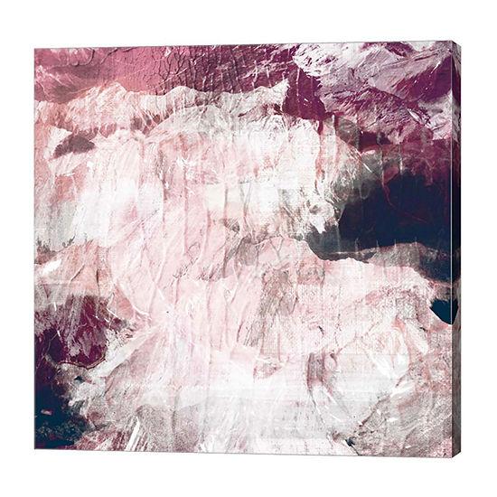 Metaverse Art Abstract Roses Canvas Art