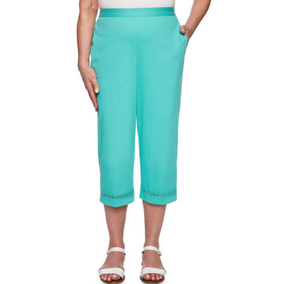 Alfred Dunner Coastal Drive High Waisted Capris