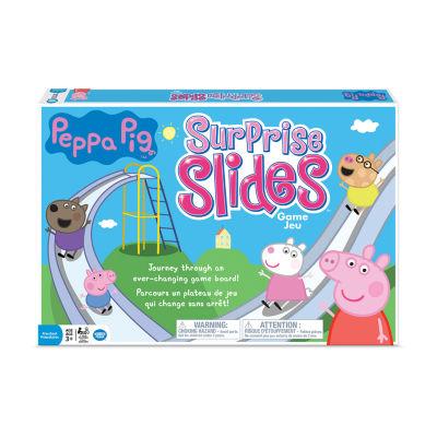 Wonder Forge Peppa Pig Surprise Slides Game Board Game