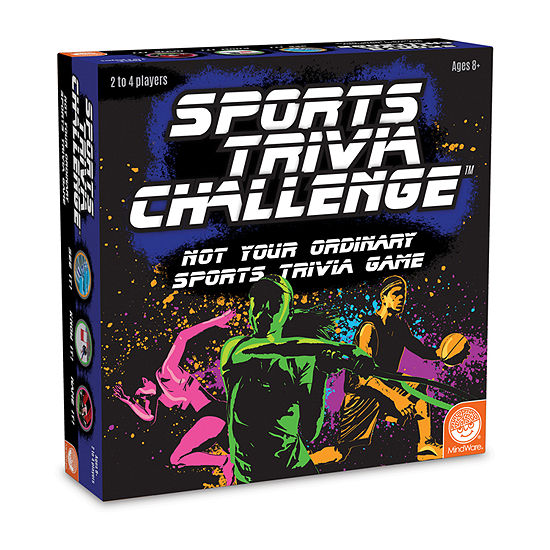 Mindware Sports Trivia Challenge Board Game
