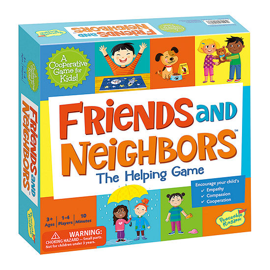 Peaceable Kingdom Friends And Neighbors - The Helping Game Board Game