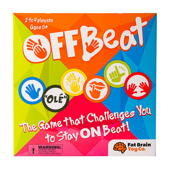 Fat Brain Toy Co Offbeat Board Game