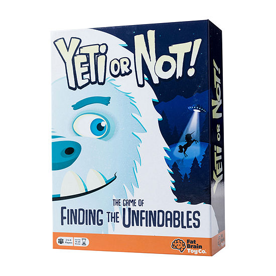 Fat Brain Toy Co. Yeti Or Not! Board Game