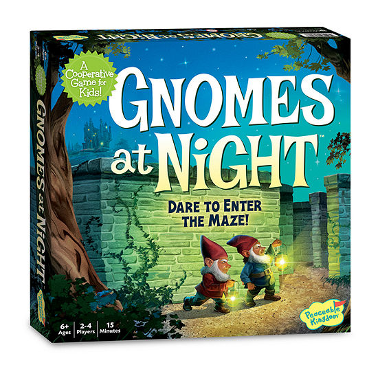 Peaceable Kingdom Gnomes At Night Board Game