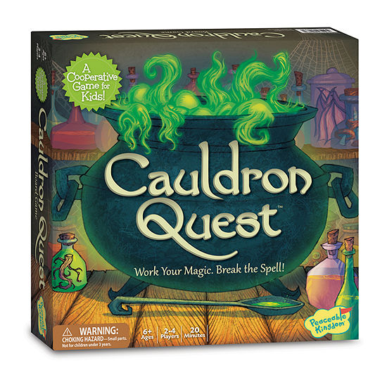 Peaceable Kingdom Cauldron Quest Board Game
