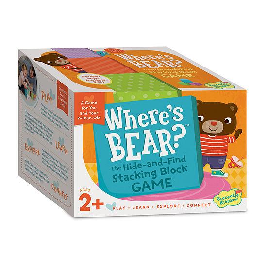 Peaceable Kingdom Where'S Bear?