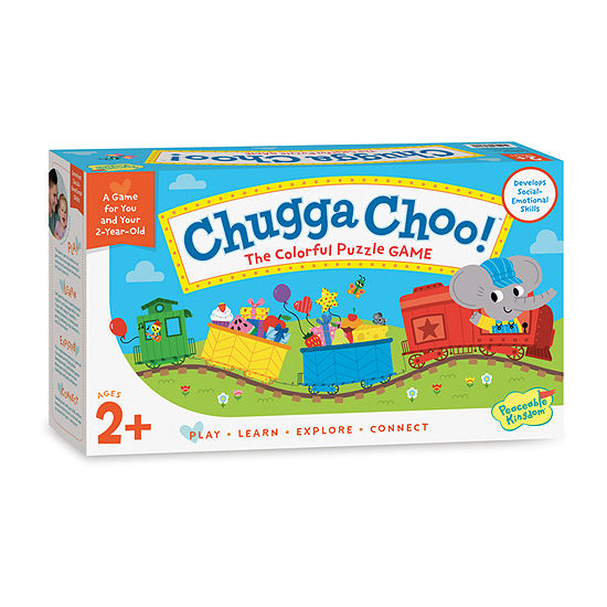 Peaceable Kingdom Chugga Choo! Board Game