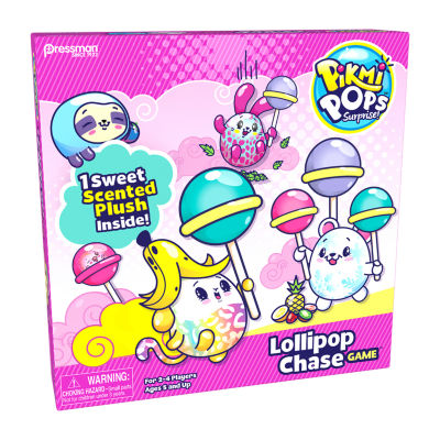 Pressman Toy Pikmi Pops Surprise! Lollipop Chase Board Game