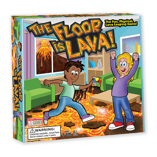 Endless Games The Floor Is Lava! Board Game