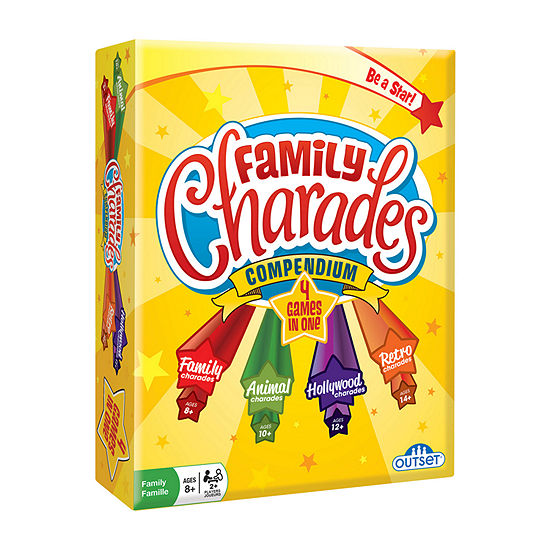 Outset Media Family Charades Compendium Board Game