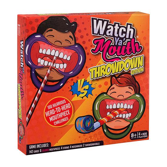 Buffalo Games Watch Ya' Mouth - Throwdown Edition Board Game