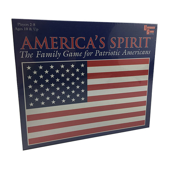 University Games Americas Spirit Board Game