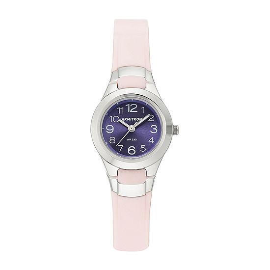 Armitron Pro Sport Womens Pink Strap Watch-25/6418lpk