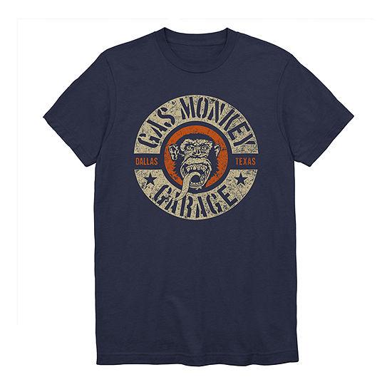 Gas Monkey Garage Mens Crew Neck Short Sleeve Graphic T-Shirt