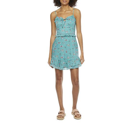 City Triangle-Juniors Sleeveless Sheath Dress