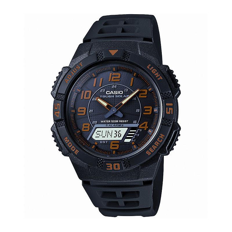 Casio Mens Analog-Digital Solar Watch AQ-S800W-1B2V