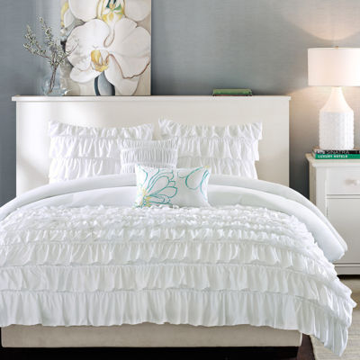 Intelligent Design Demi Ruffled Comforter Set