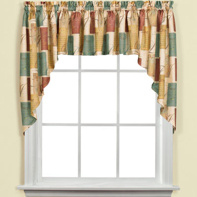 Tranquility Rod-Pocket Swag Valance