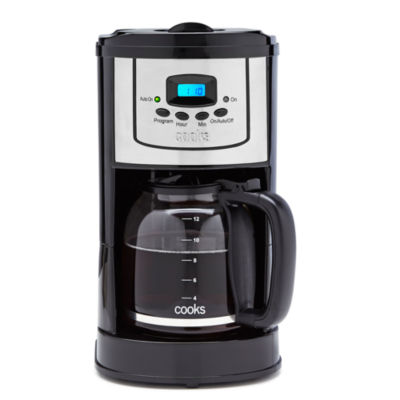 Cooks XL 12-Cup Programmable Coffee Maker