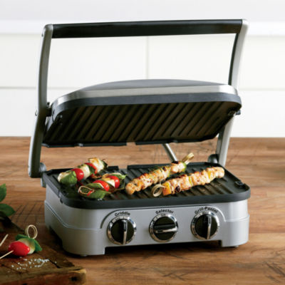 Cuisinart® Griddler + Removable Dishwasher-Safe Plates
