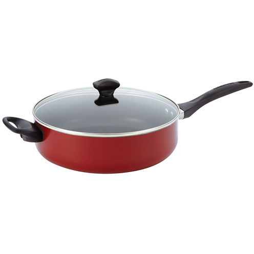 Farberware® 5-qt. Dishwasher-Safe Nonstick Jumbo Cooker with Lid