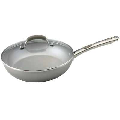 "Farberware® Specialties 10½"" Nonstick Deep Fry Pan with Lid"