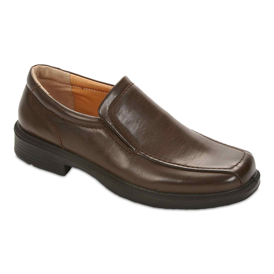 Deer Stags Greenpoint Mens Slip On Shoes, Brown