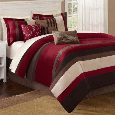 Boulder Stripe 7-pc. Comforter Set