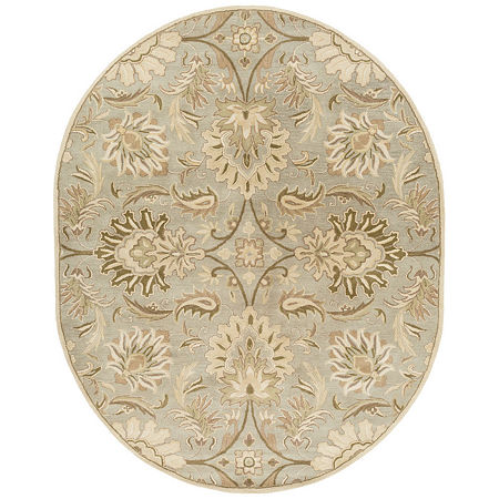 Decor 140 Vitrolles Hand Tufted Oval Indoor Rugs, One Size , Gray