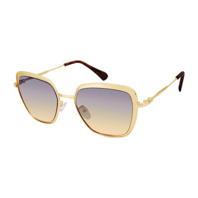 Us Polo Assn. Womens Full Frame Cat Eye UV Protection Sunglasses