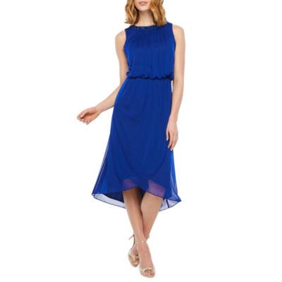 Scarlett Sleeveless Embellished Blouson Dress