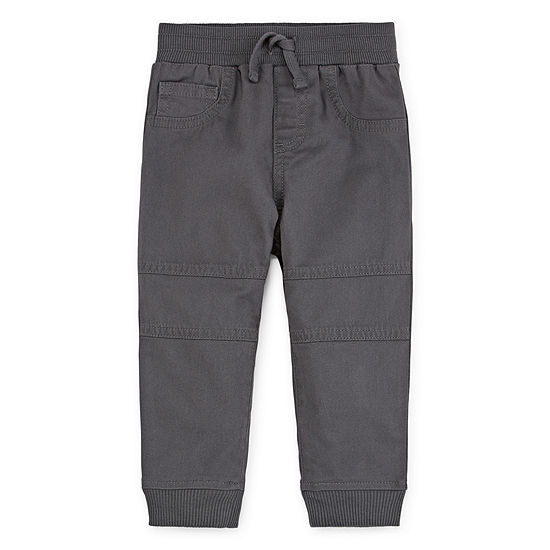 Okie Dokie Boys Fashion Cuffed Jogger Pant - Baby