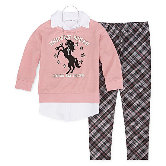 Knit Works Legging Sets 2-pc. Preschool / Big Kid Girls