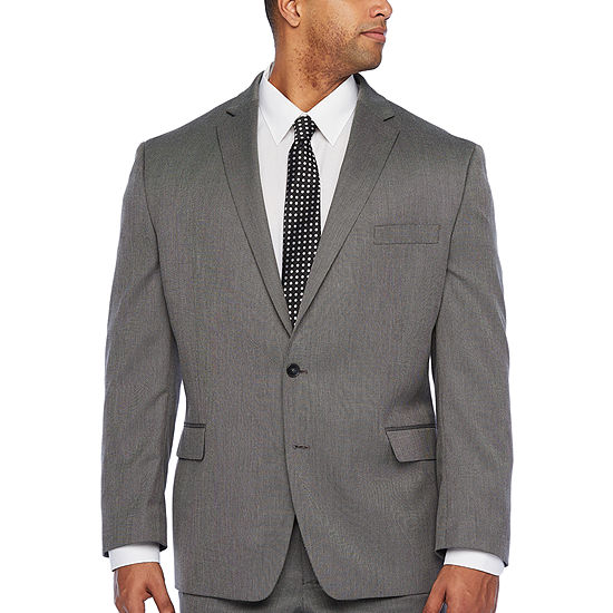Shaquille O'Neal XLG Mens Stretch Classic Fit Suit Jacket-Big and Tall