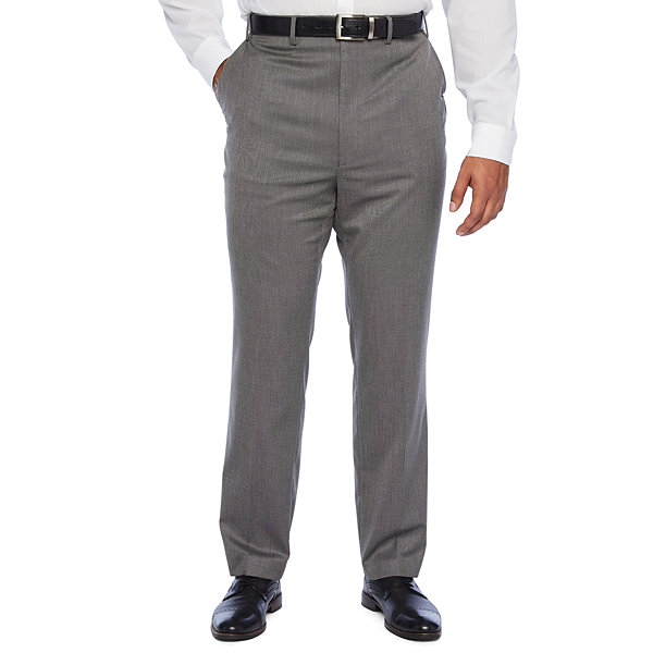Shaquille O'Neal XLG - Big and Tall Classic Fit Stretch Suit Pants