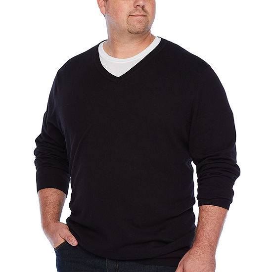 The Foundry Supply Co.™ V-Neck Sweater - Big & Tall