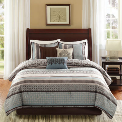 Madison Park Harvard 7-pc. Jacquard Comforter Set