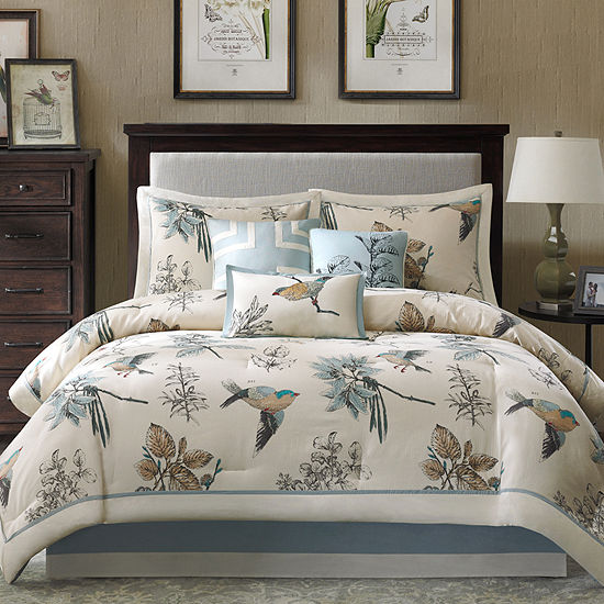 Madison Park Pierce 7 Pc Nature Comforter Set