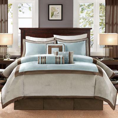 Madison Park Abigail 7-pc. Contemporary Comforter Set