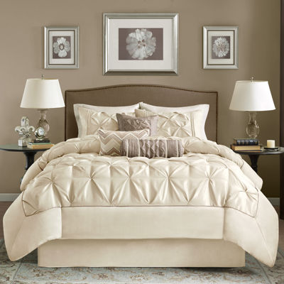 Madison Park Lafayette 7-pc. Tufted Comforter Set