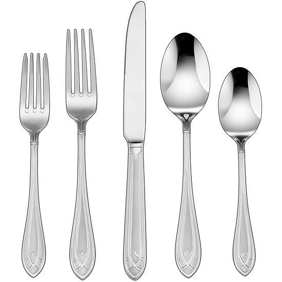 Cuisinart® Aeris 45-pc. Stainless Steel Flatware Set
