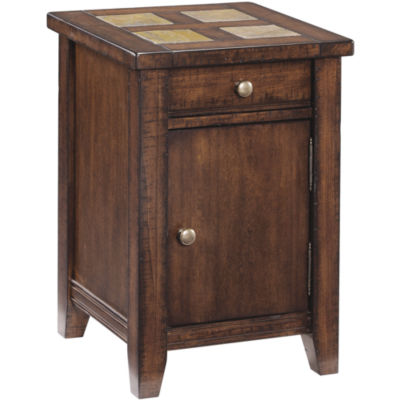 Cargo Square End Table