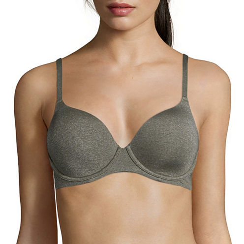 Ambrielle® Everyday Full Coverage Heather Bra