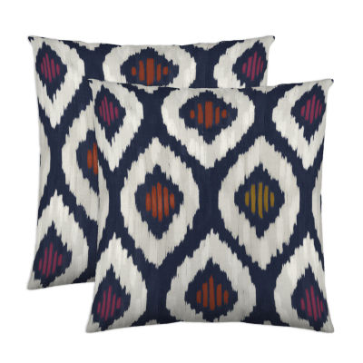 Colorfly™ Aura 2-Pack Square Decorative Pillows